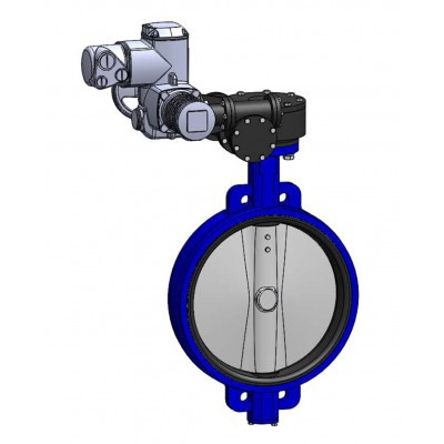 Межфланцевый дисковый поворотный затвор VPE4409-U04