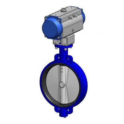 Межфланцевый дисковый поворотный затвор VPE4448-N07