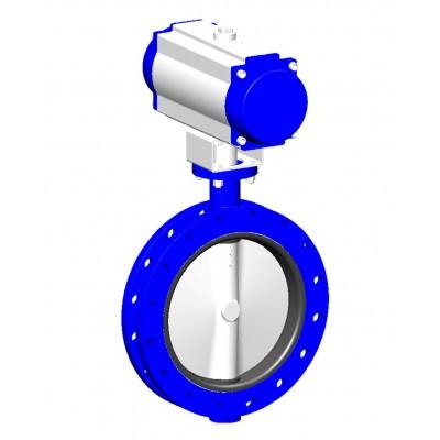 Межфланцевый дисковый поворотный затвор VPE4508-N03