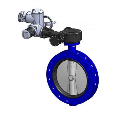 Межфланцевый дисковый поворотный затвор VPE4549-U04